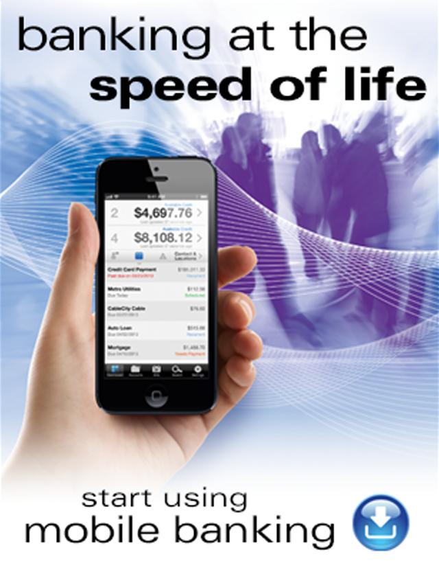 Start using mobile banking