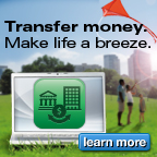 Transfer Money. Make life a breeze.